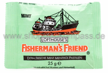 Foto Fisherman's Friend Frische Mint Menthol Pastillen
