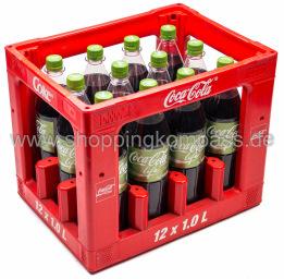 Coca Cola Life Kasten 12 x 1 l PET MW