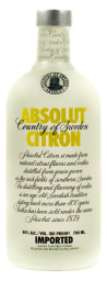 Foto Absolut Vodka Imported Citron 0,7 l