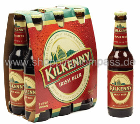 Kilkenny Irish Beer 6 x 0,33 l Glas MW