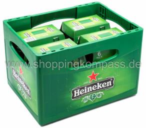 Heineken Kasten 4 x 6 x 0,33 l Glas MW