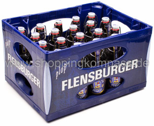 Flensburger Dunkel Bügel Kasten 20 x 0,33 l Glas MW