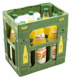 Van Nahmen Orangensaft Kasten 6 x 0,7 l Glas MW