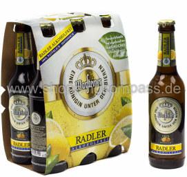 Warsteiner Radler alkoholfrei 6 x 0,33 l Glas MW