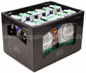 Warsteiner Herb alkoholfrei Kasten 4 x 6 x 0,33 l Glas MW