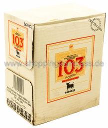 Osborne Brandy 103er Karton 6 x 0,7 l