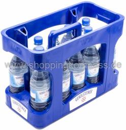 Gerolsteiner Mineralwasser Naturell Kasten 12 x 0,5 l PET EW