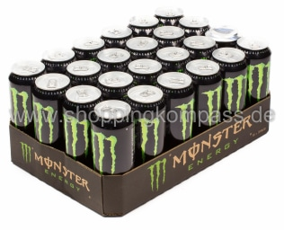 Foto Monster Energy Drink Karton 24 x 0,5 l Dose Einweg