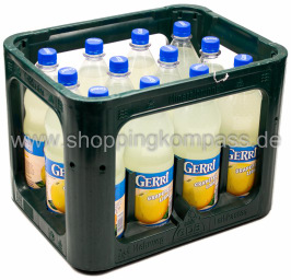 Foto Gerri Grapefruit Light Kasten 12 x 1 l PET Mehrweg