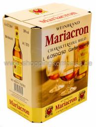 Mariacron Weinbrand Karton 6 x 0,7 l