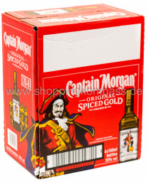 Foto Captain Morgan Rum Karton 6 x 0,7 l
