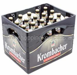 Krombacher Pils alkoholfrei Kasten 20 x 0,5 l Glas MW