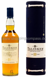 Foto Talisker Single Malt Scotch Whiskey 0,7 l Geschenkverpackung