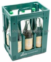 St. Leonhards Das Lebendige Mineralwasser Medium Kasten 6 x 1 l Glas MW