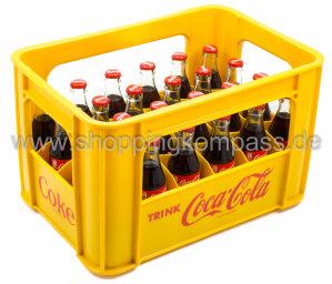 Coca Cola Kasten 24 x 0,2 l Glas MW