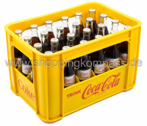 Coca Cola Light Kasten 24 x 0,33 l Glas MW