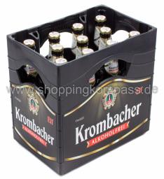Krombacher Pils alkoholfrei Kasten 11 x 0,5 l Glas MW