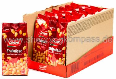 Lorenz Erdnüsse geröstet gesalzen Karton 14 x 200 g