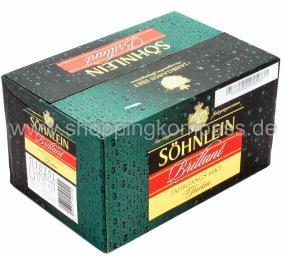 Söhnlein Brillant Sekt trocken Karton 24 x 0,2 l