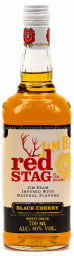 Foto Jim Beam Bourbon Whiskey Red Stag Black Cherry 0,7 l