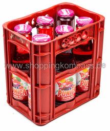 Punica Fruchtig Rot Kasten 6 x 1 l Glas MW