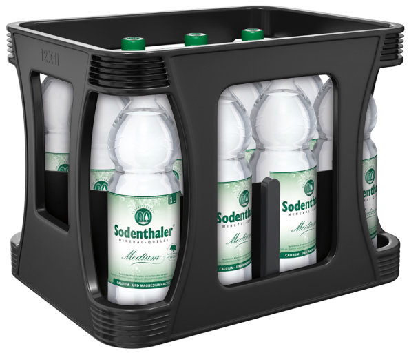 Sodenthaler Mineral Quelle Medium Kasten 12 x 1 l PET Einweg