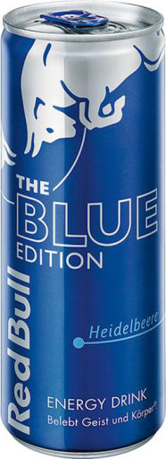 Red Bull The Blue Edition Heidelbeere 0,25 l Dose Einweg