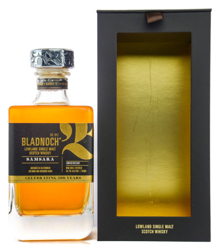 Bladnoch Lowland Single Malt Scotch Whisky Samsara 0,7 l