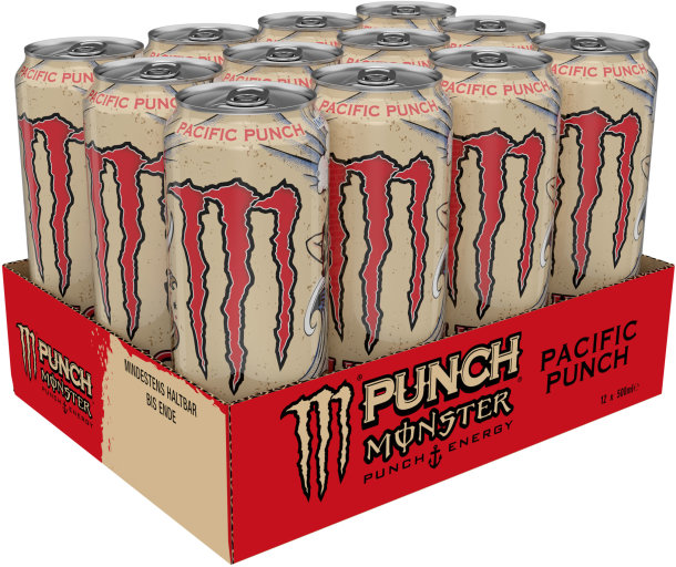 Monster Pacific Punch+Energy Karton 12 x 0,5 l Dose Einweg
