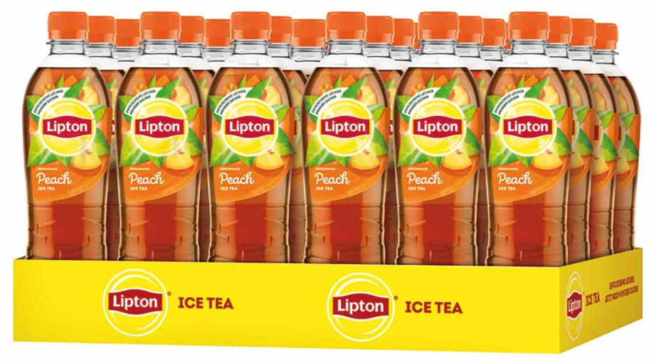 Lipton Ice Tea Eistee Peach Karton 24 x 0,5 l PET Einweg
