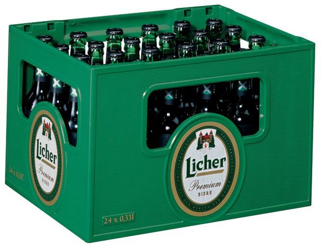 Licher X² Cola Kasten 24 X 033 L Glas Mehrweg
