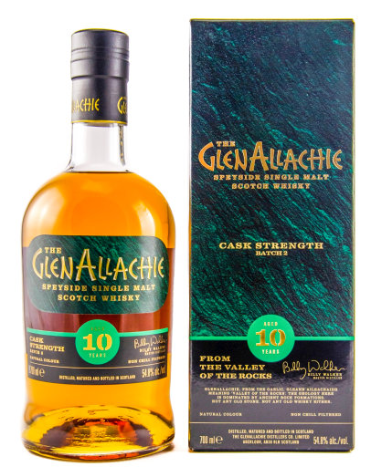 The Glenallachie Speyside Single Malt Scotch Whisky 10 years 0,7 l