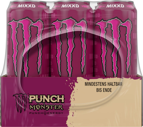 Monster Punch Baller's Blend Karton 12 x 0,5 l Dose Einweg