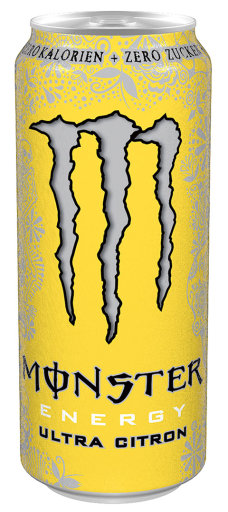 Monster Energy Ultra Citron 0,5 l Dose Einweg