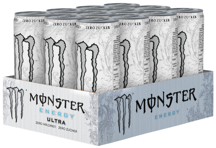 Monster Energy Ultra Karton 12 x 0,335 l Dose Einweg