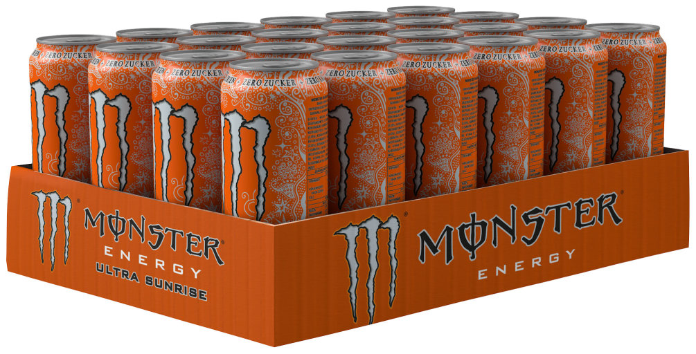 Monster Energy Ultra Sunrise Karton 24 x 0,5 l Dose Einweg
