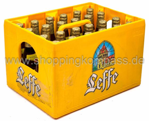Leffe Blonde Bier Kasten 24 X 033 L Glas Mehrweg