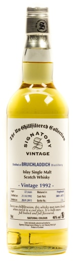Signatory Vintage Bruichladdich 22 Years Islay Single Malt Scotch Whisky 0,7 l