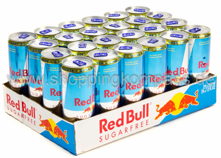 Red Bull Sugarfree Karton 24 x 0,25 l Dose Einweg