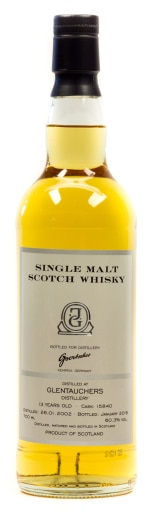 Glentauchers (Goertsches Bottling) Single Malt Scotch Whisky 0,7 l