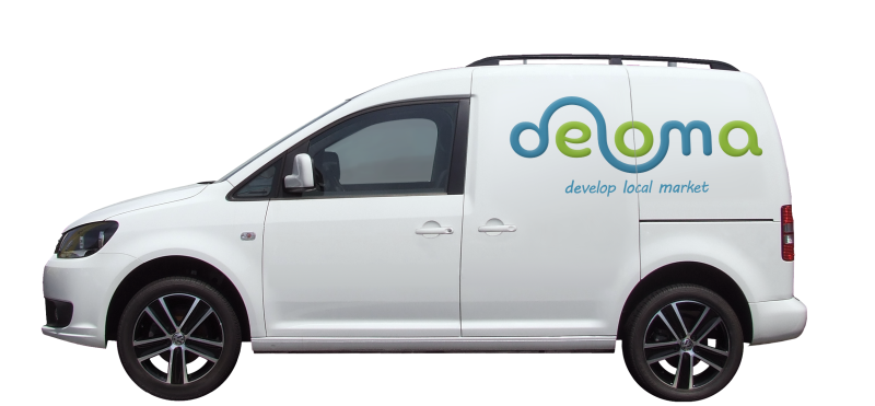 Lieferwagen VW Caddy