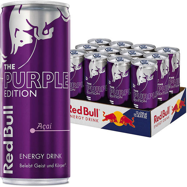 Red Bull The Purple Edition Açai Karton 12 x 0,25 l Dose Einweg