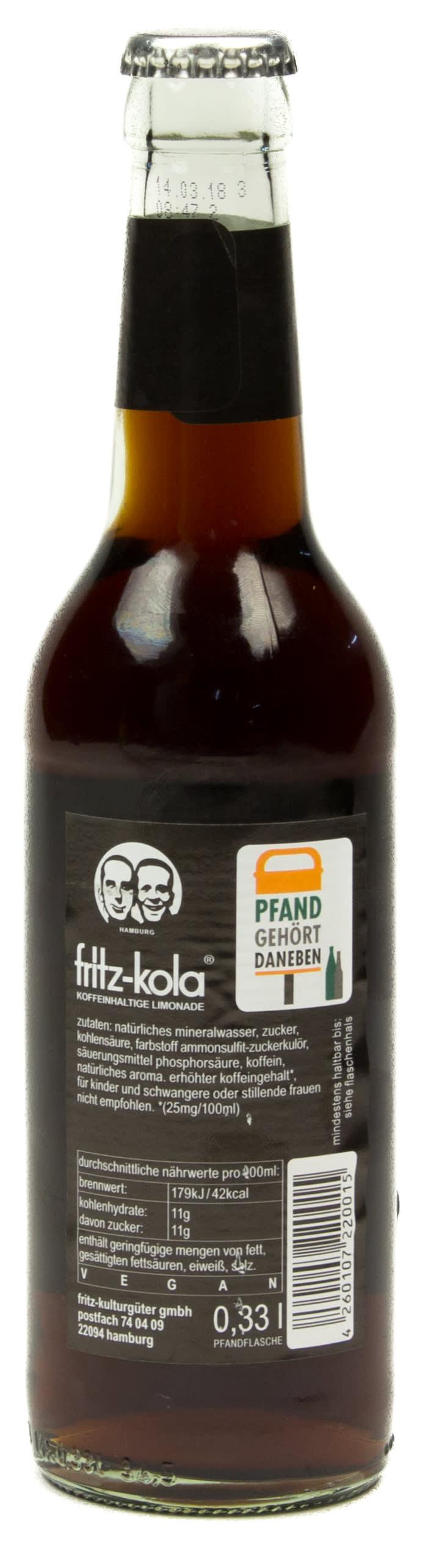 Fritz Kola 033 L Glas Mehrweg