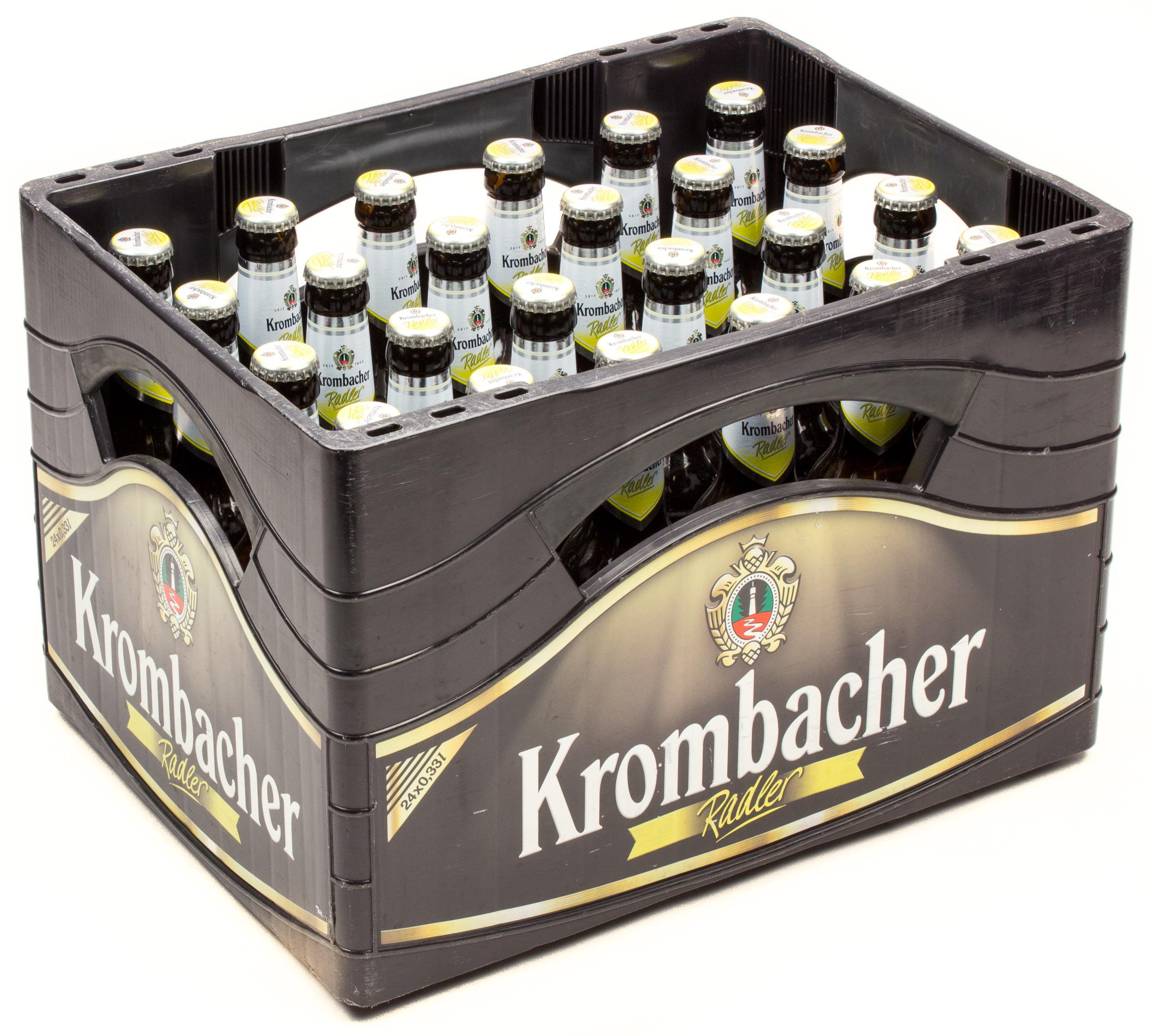 Krombacher Radler Kasten 24 X 033 L Glas Mehrweg