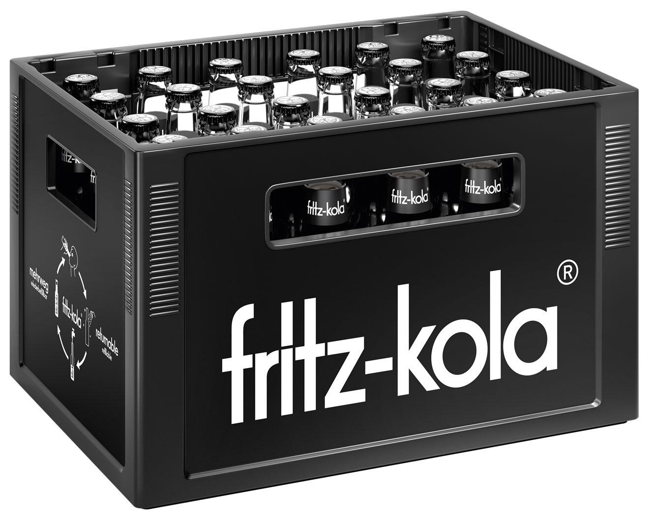 Fritz Kola Kasten 220 x 20,20 l Glas Mehrweg   Ihr zuverlässiger ...