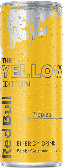 Red Bull Yellow Edition Tropical 0,25 l Dose Einweg