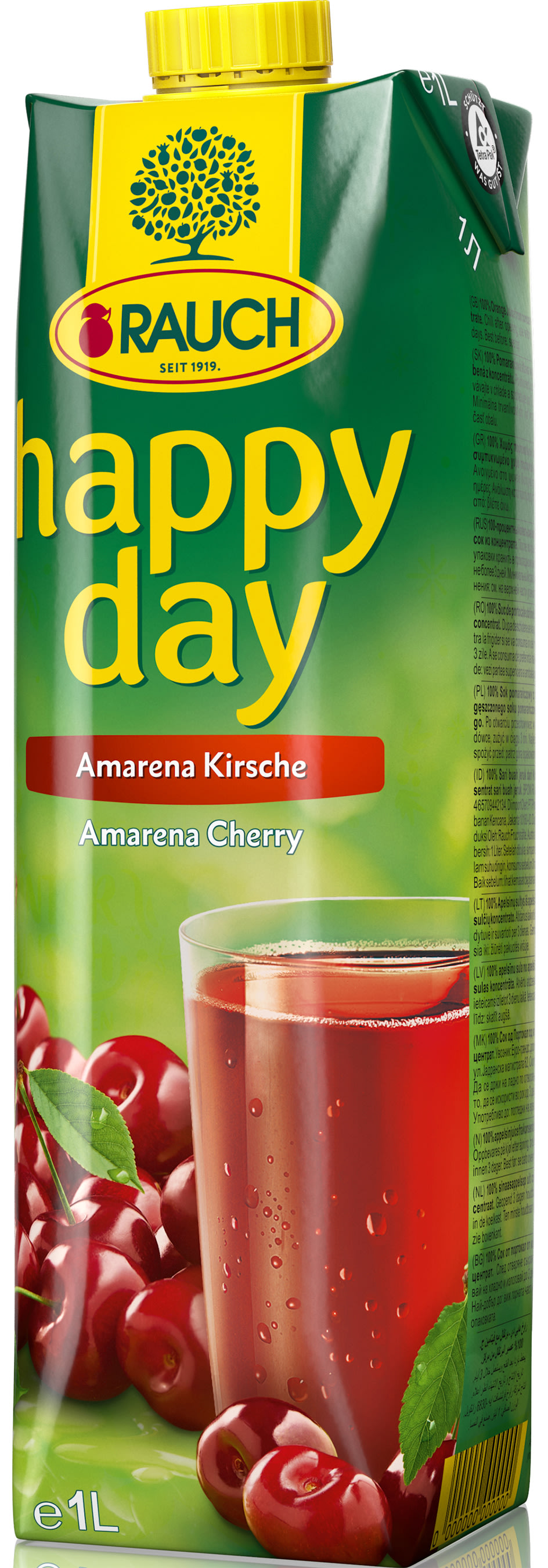 Happy Day Amarena Kirsche 1 l Tetra-Pack