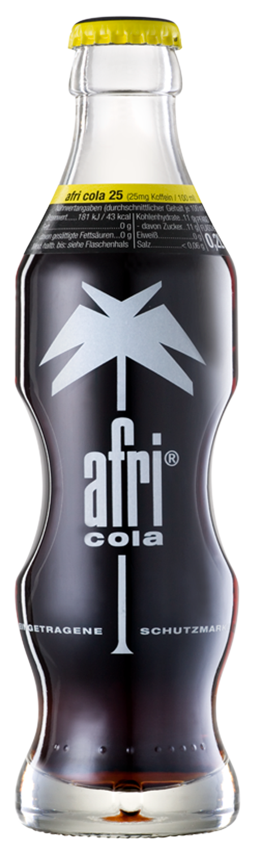 Cola Colamixgetränke Afri Cola 25 02 L Glas Mehrweg