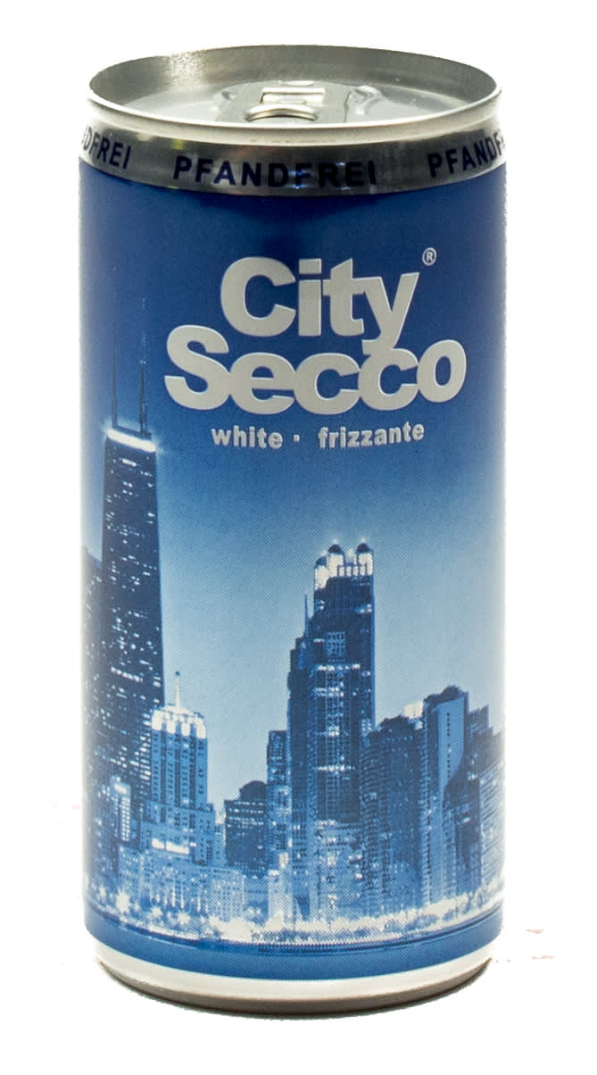 City Secco Weißweincocktail 0,2 l Dose