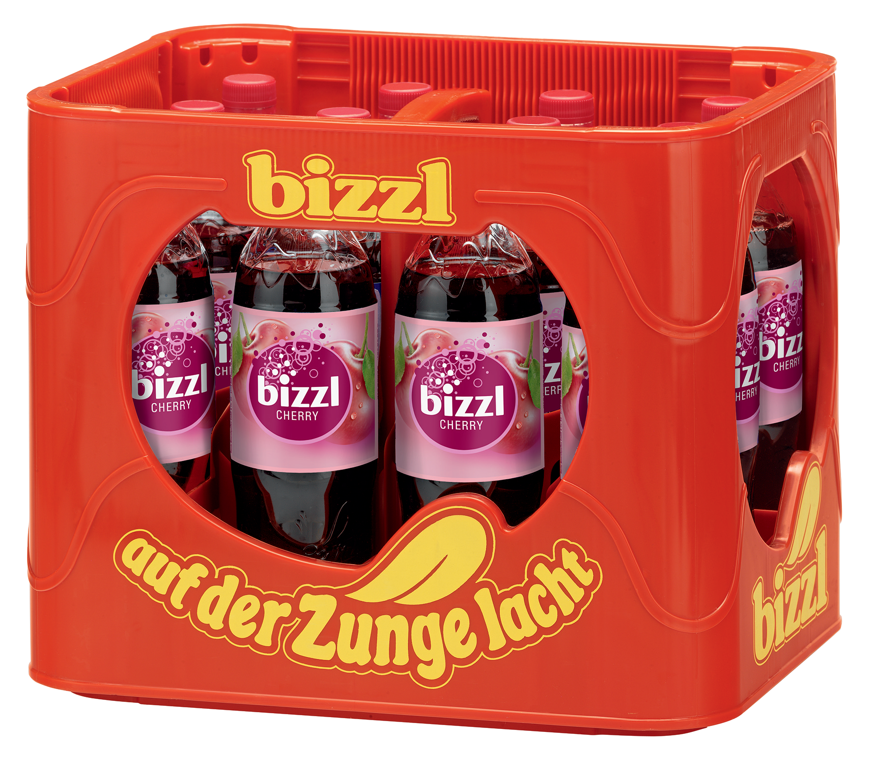Bizzl Cherry Kasten 12 x 1 l PET Mehrweg